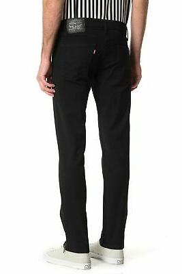 Levis 511 Fit Zip-Hem Stylo Denim Jeans Black