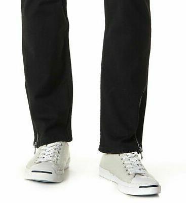 Levis Slim Zip-Hem Denim Jeans