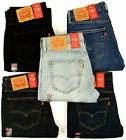 Levis 527 Men's Slim Fit Boot Cut Levi's Bootcut Jeans **^^