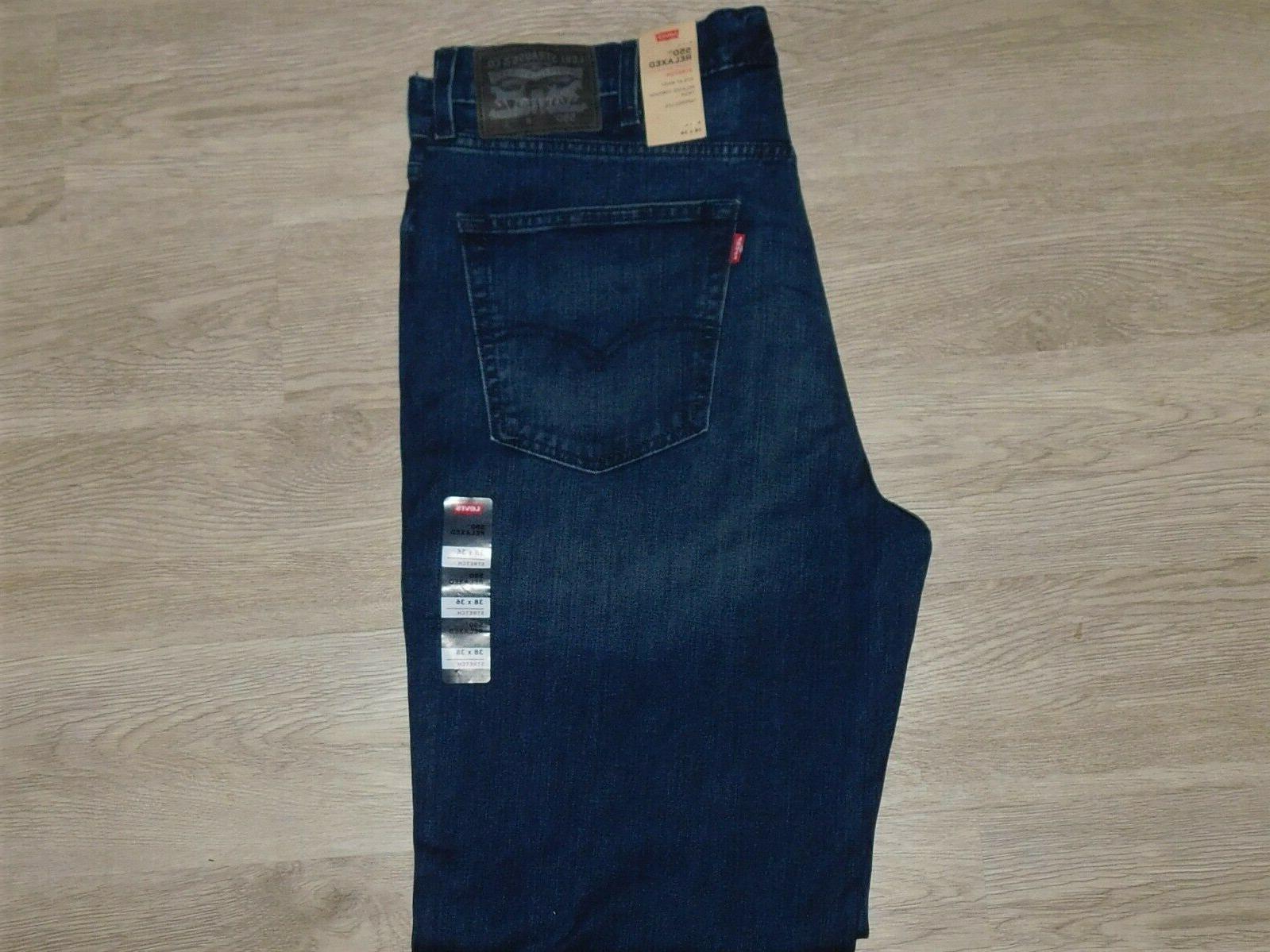 LEVIS Jeans Comfort & Dk Twist Choose Size