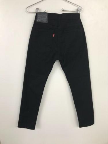 Levi's Young Men's Super Jeans Jet Black