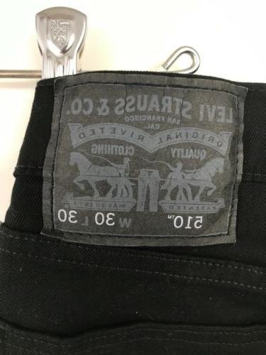 Levi's Super Jeans Jet Black 30x30