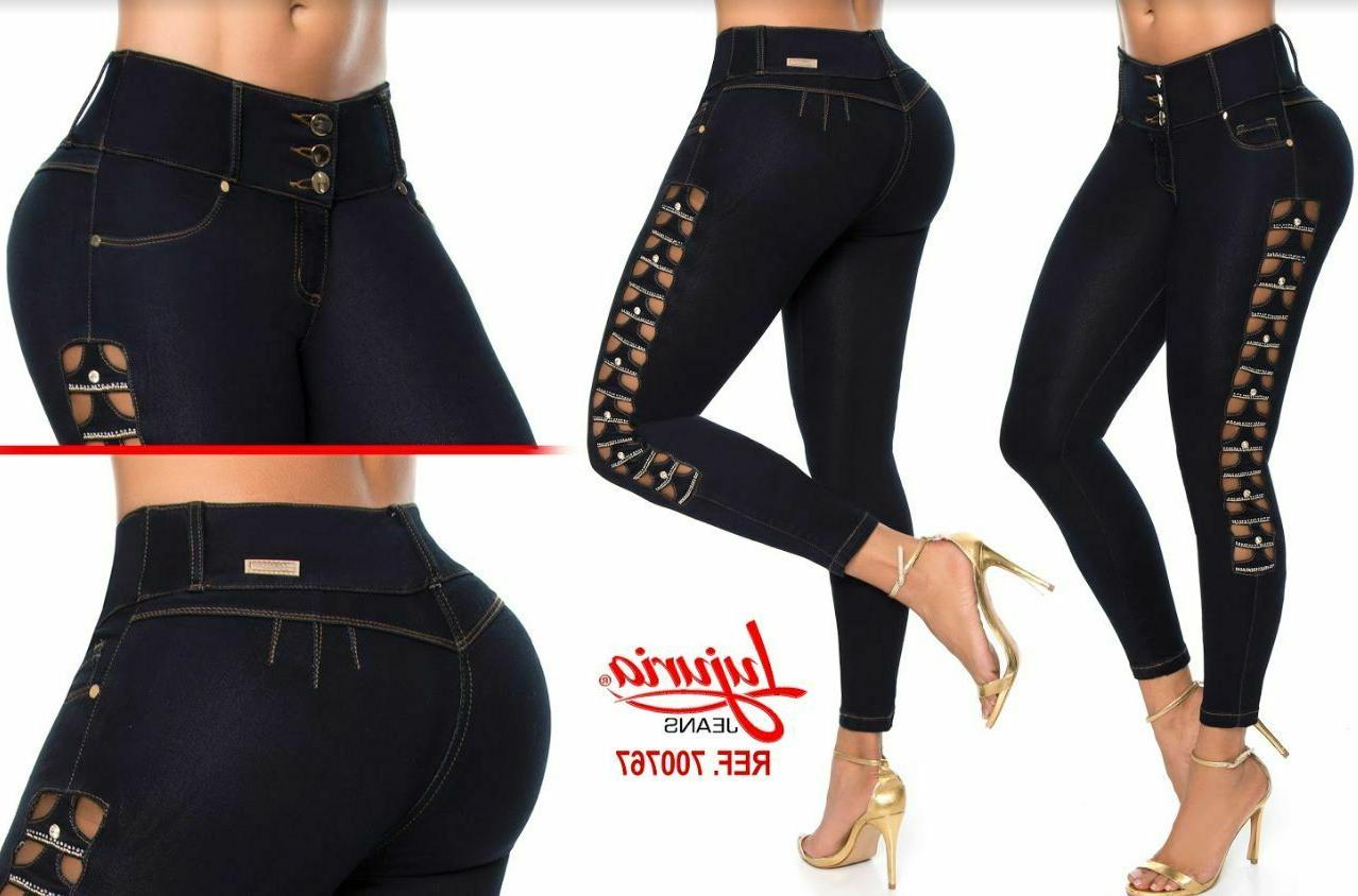 lujuria jeans colombianos authentic colombian push up