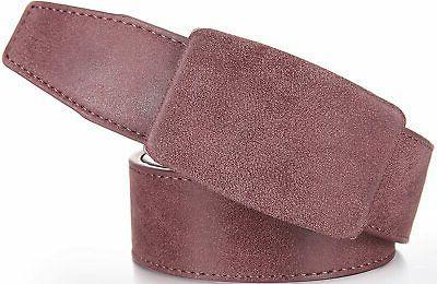 Marino Ratchet Leather Belt for Men - Casual Jean Perfect Belt