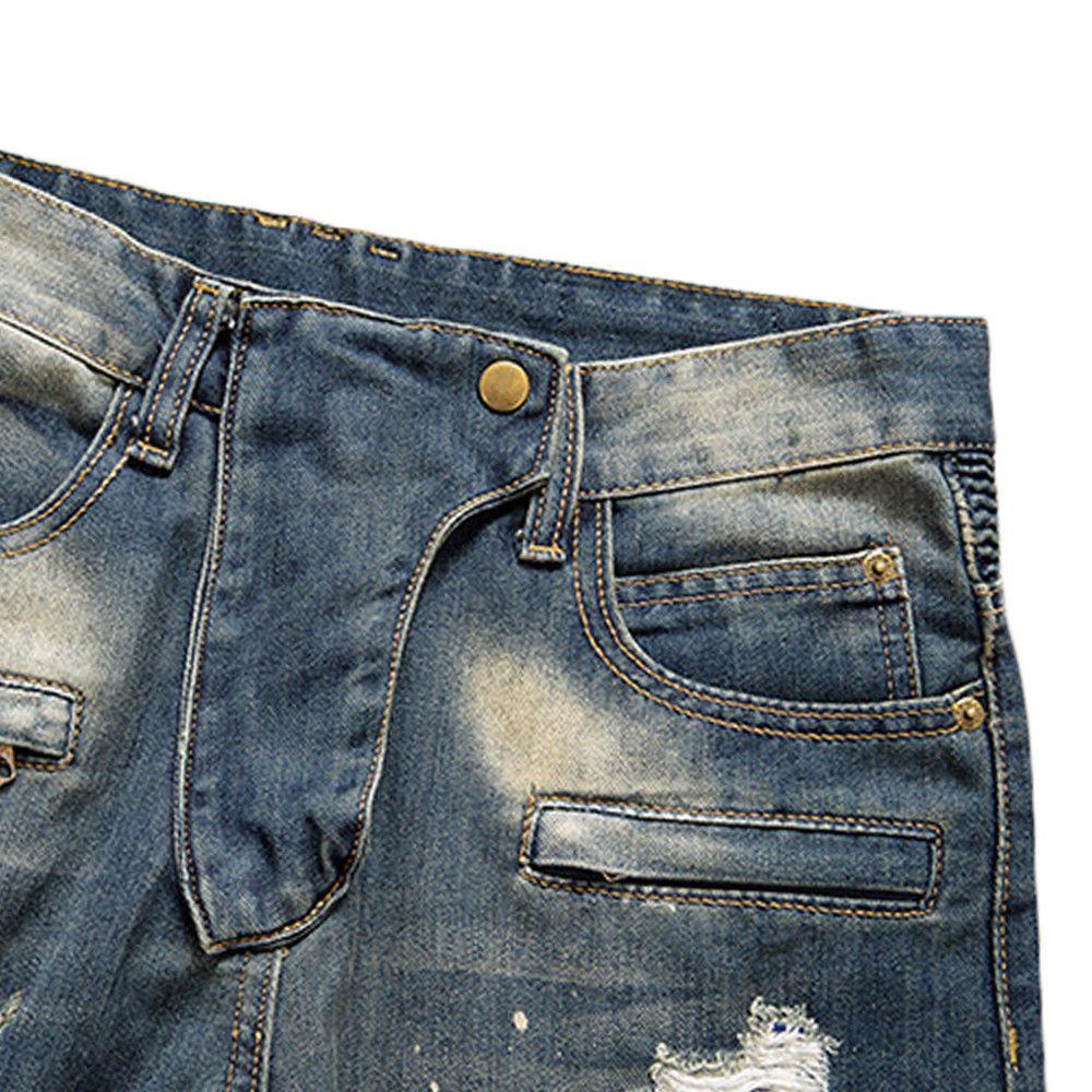 Biker Slim Fit Pants