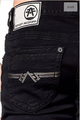 AMERICAN Men Jeans BLACK Buckle BKE $125 NWT B24
