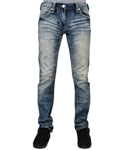AMERICAN Denim Jeans LEGEND BATTLE FRAZIER Buckle $125 NWT