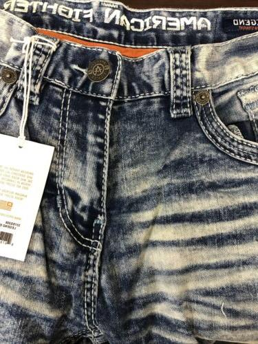 AMERICAN FIGHTER Jeans Buckle NWT