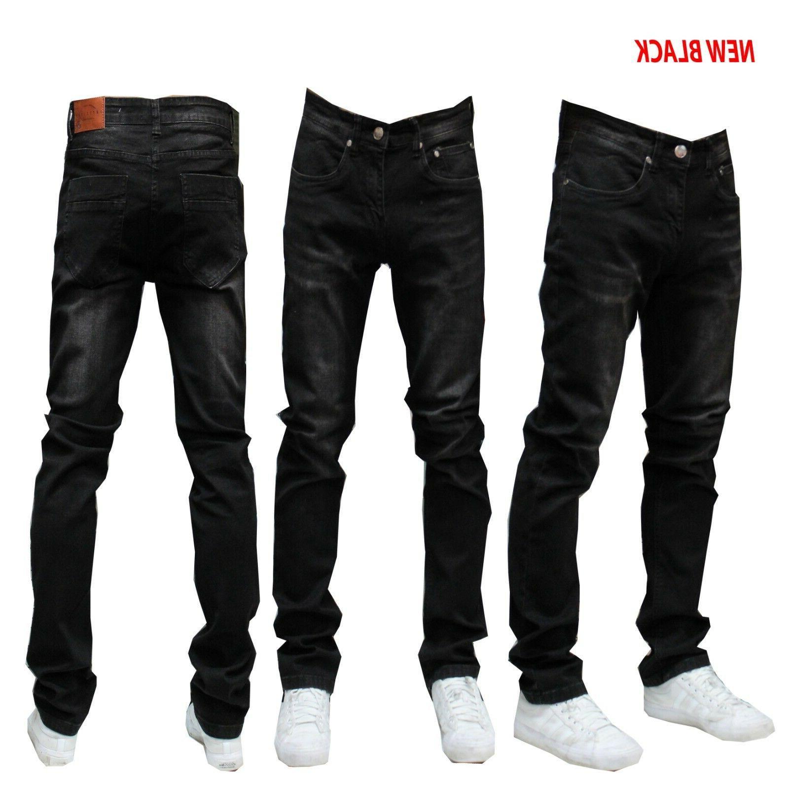 MEN FIT SLIM Casual Pants JEAN