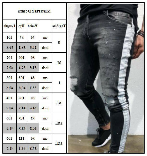 Men Jeans Casual S-XL