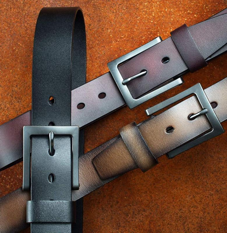 Men's Casual Belt, Great with Khakis, -