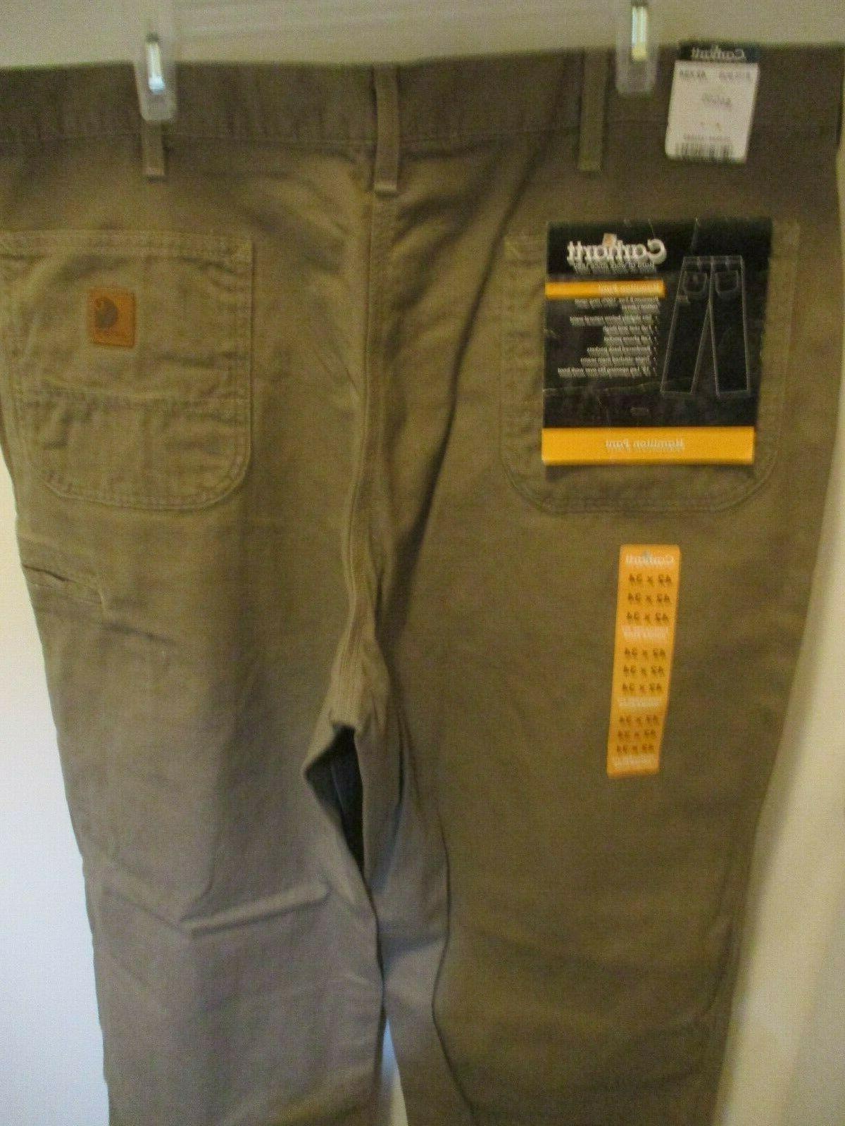 men s brown jeans sz 42x34 new