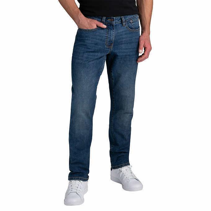 IZOD Men?s Comfort Stretch Jeans - BLUE