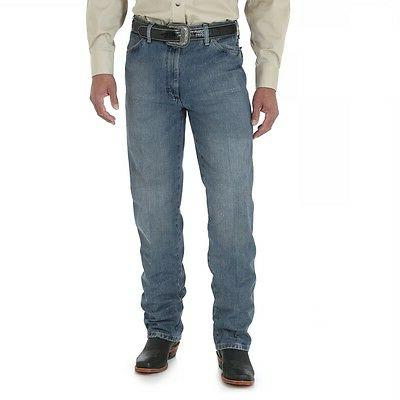 Men's Wrangler Cowboy Cut@Slim Fit Authentic Western Rodeo J