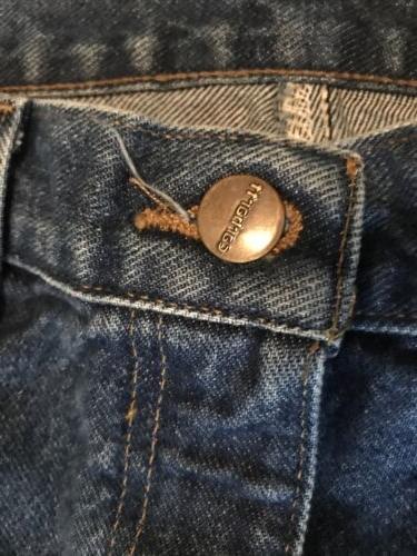 **CARHARTT** Men's Denim Pants Size Fit