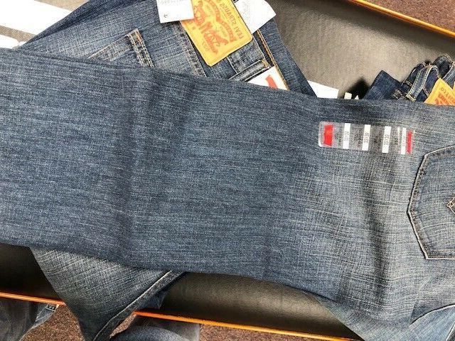 Men's Levi 527 Boot jeans wash New