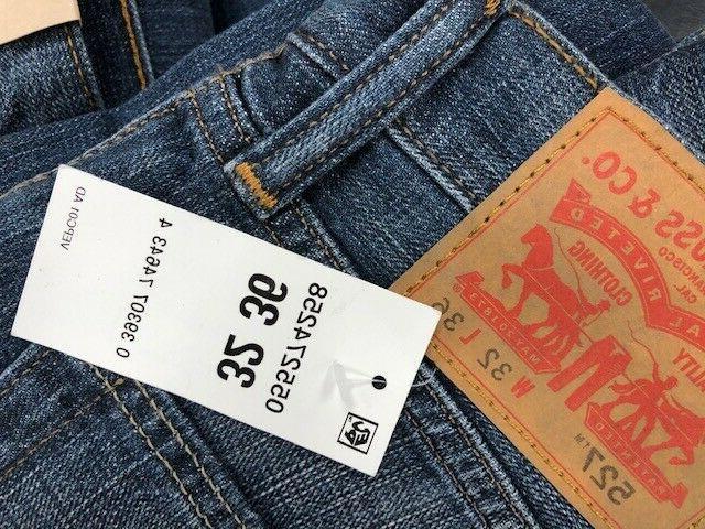 Men's Levi 527 Boot cut jeans wash New