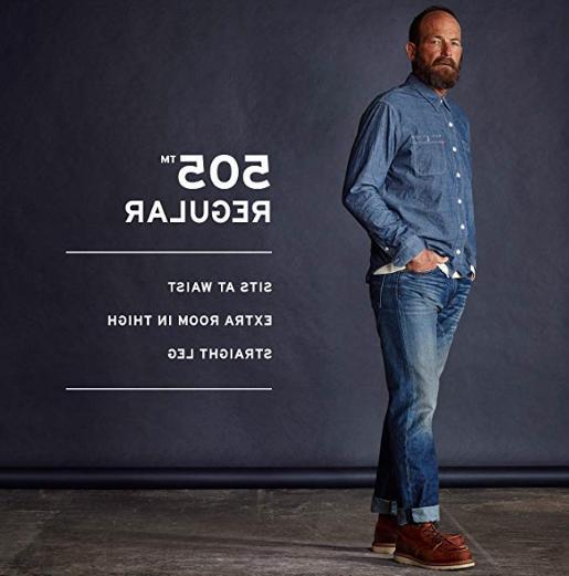 Men's Levi's 505 Regular Fit Jean  - All Sizes - MSRP $59