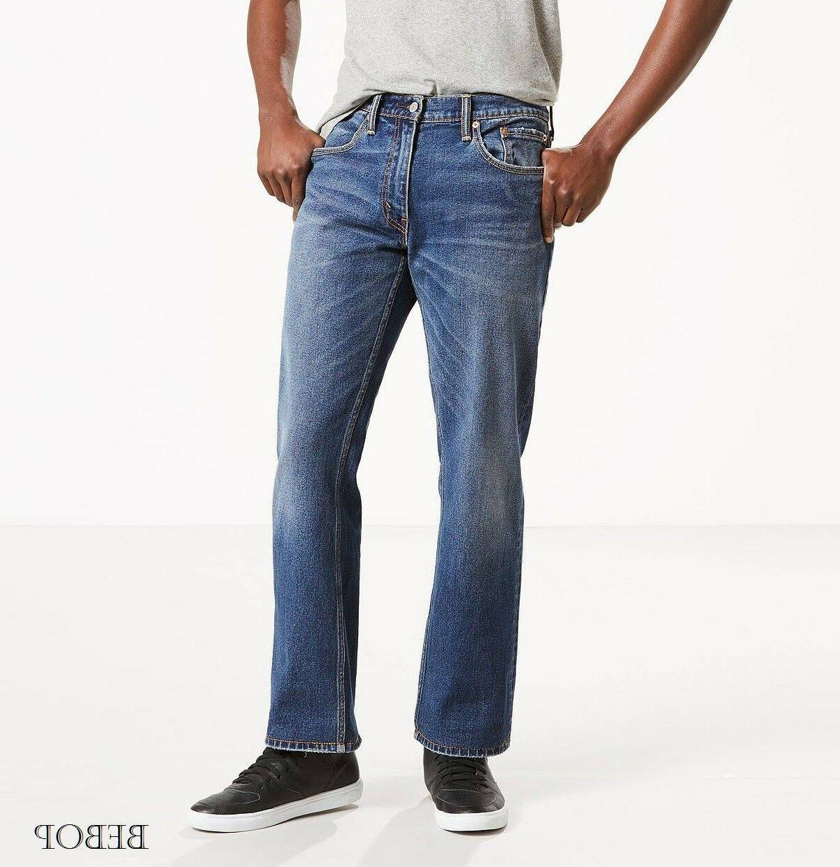 NWT Men's Levi's 559 Relaxed Straight Fit Jeans Stretch/No S