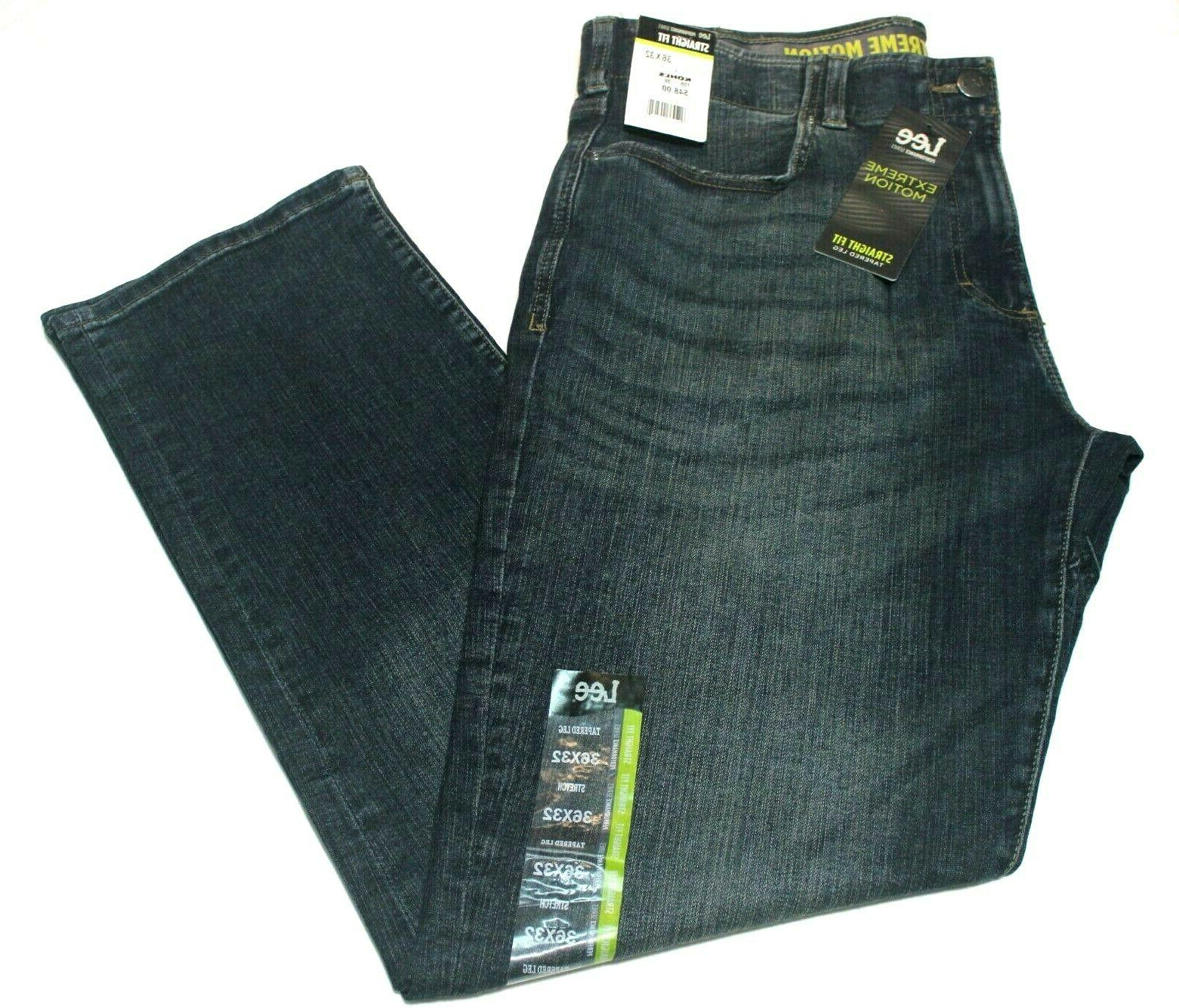 "Men's ""Lee"" Performance Extreme Straight Fit Tapered Jeans"