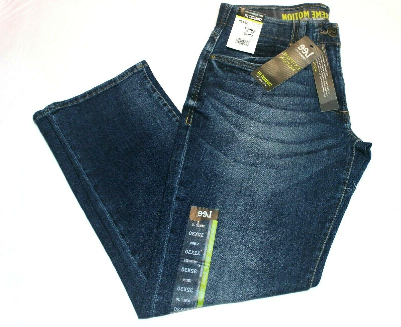 Men's Motion Straight Fit Tapered Leg Jeans