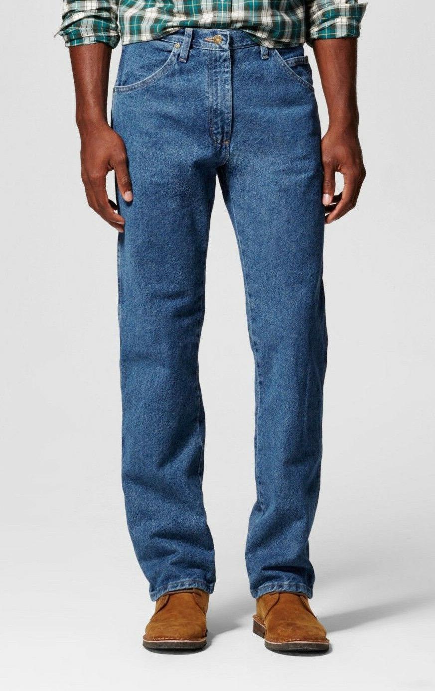 Wrangler Jeans 5-Star New Tags Dark Stonewash