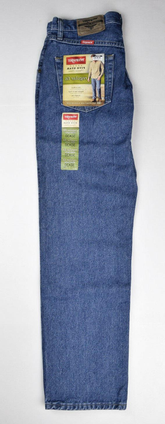 Wrangler Men's Jeans New With Tags Stonewash