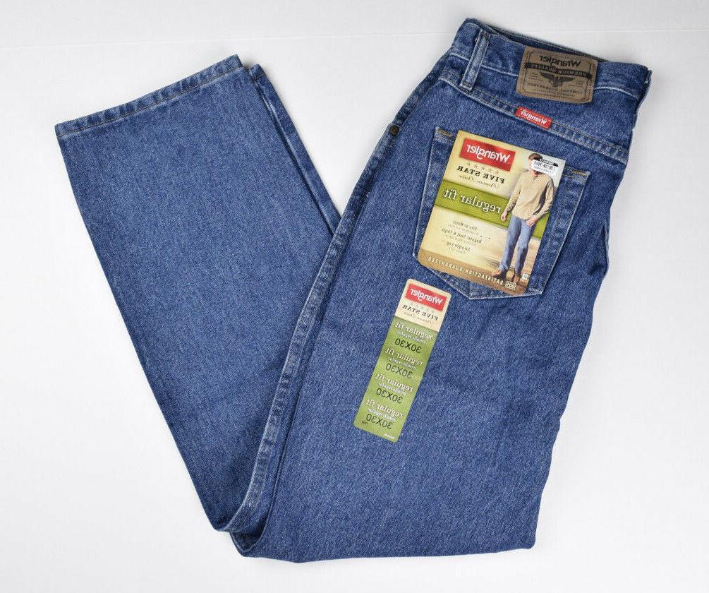 Wrangler Men's Jeans Blue jeans New Tags Stonewash