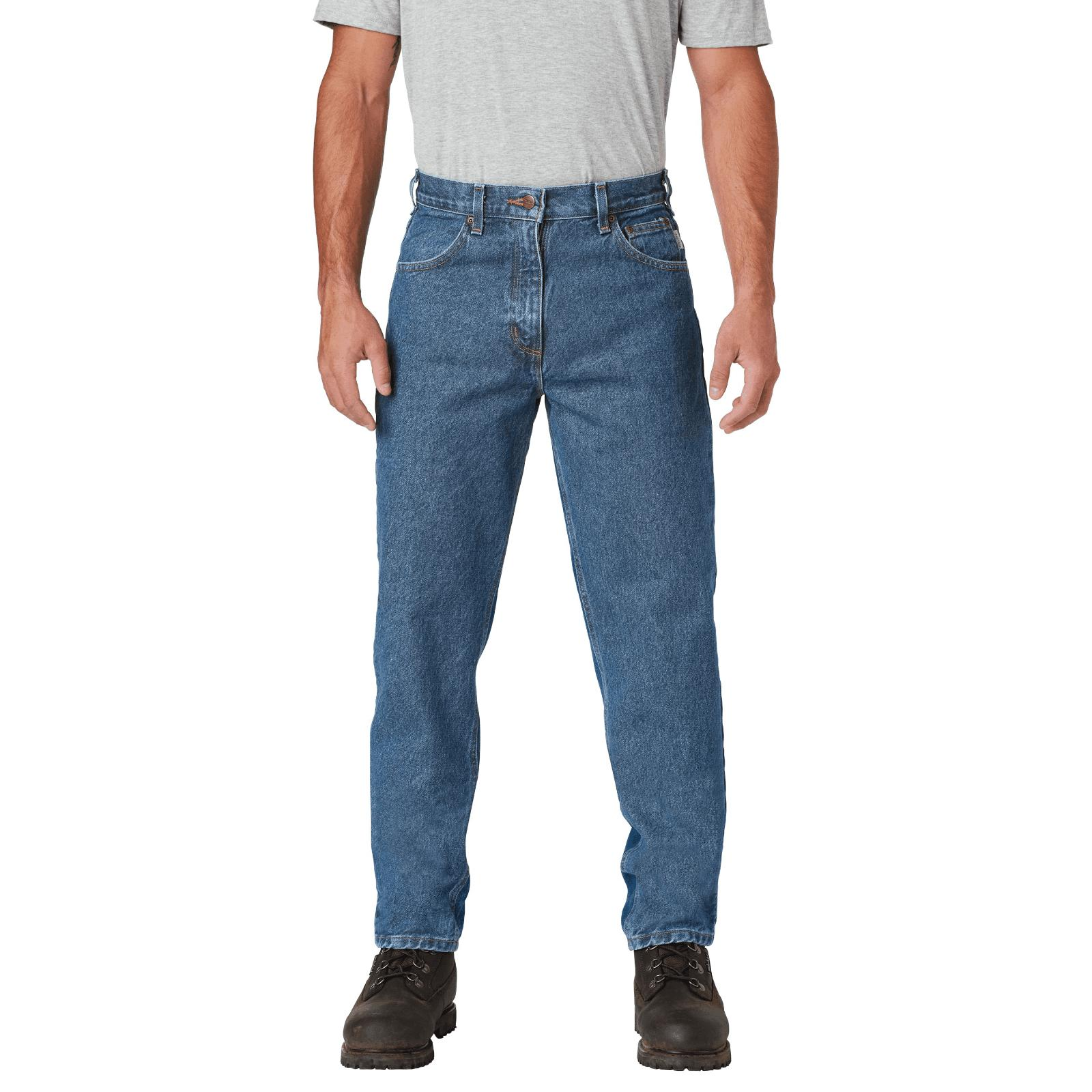 men s relaxed fit tapered leg jean