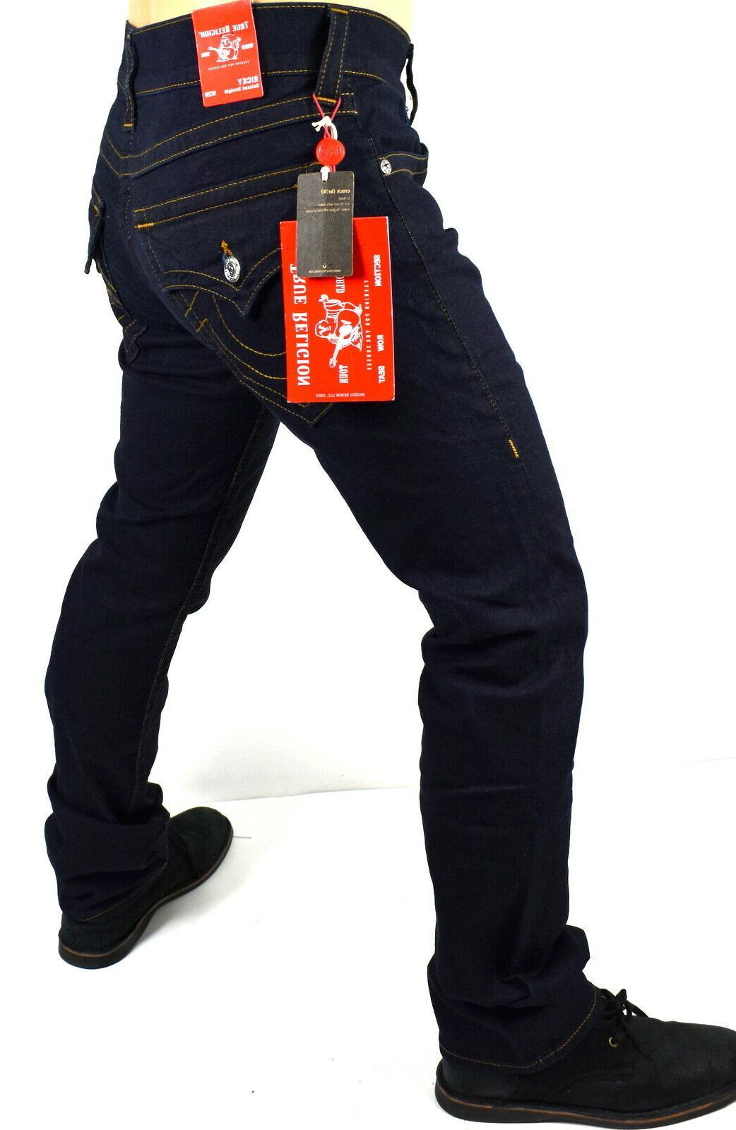 Dark Straight Jeans -
