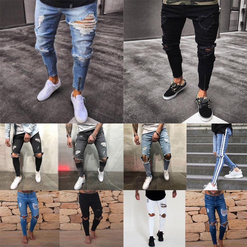 Men's Skinny Stretch Fit Denim