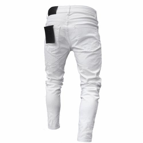 Men's Ripped Fit Denim Pants US