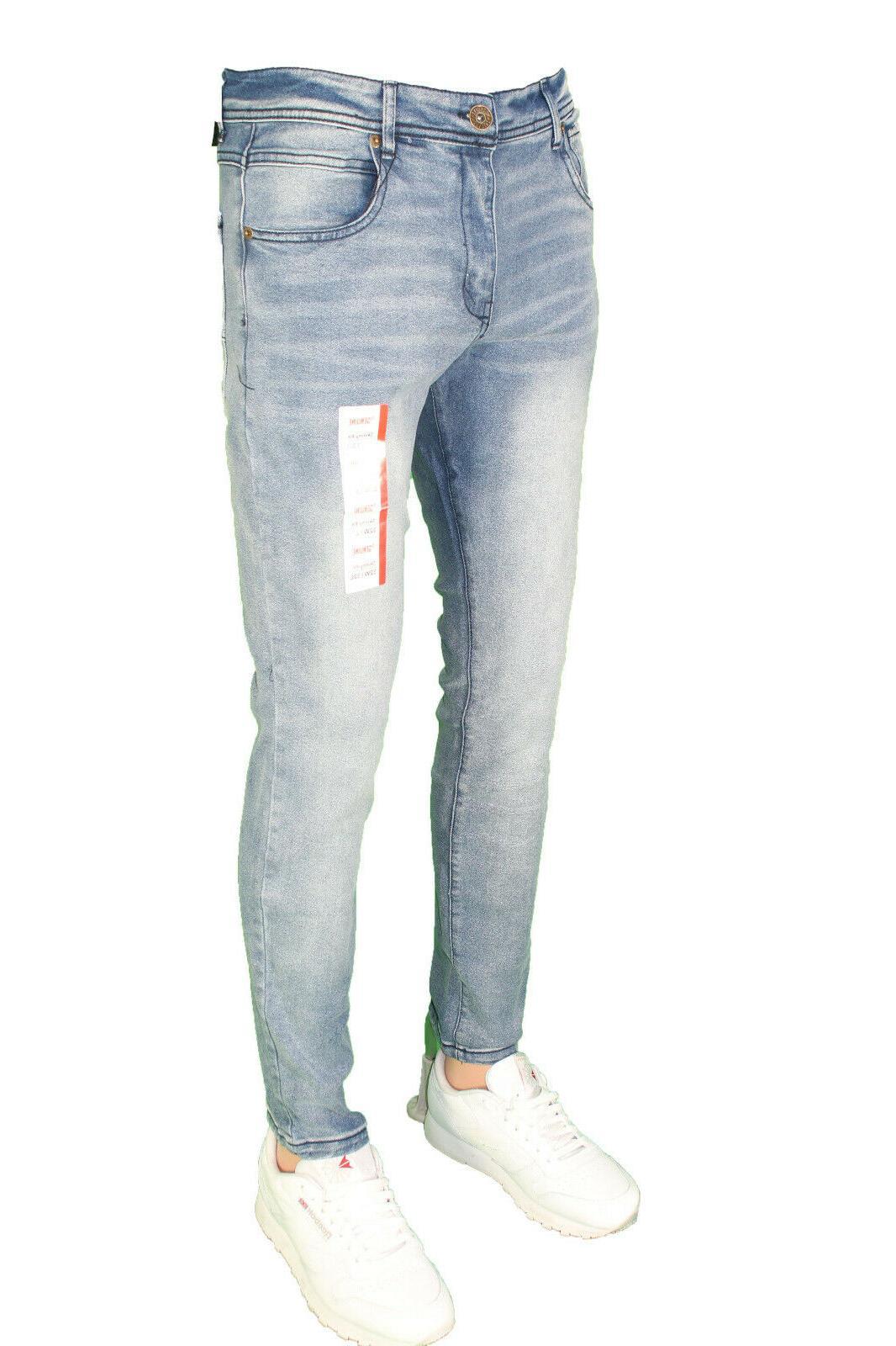 Men Super Pants Slim Jeans
