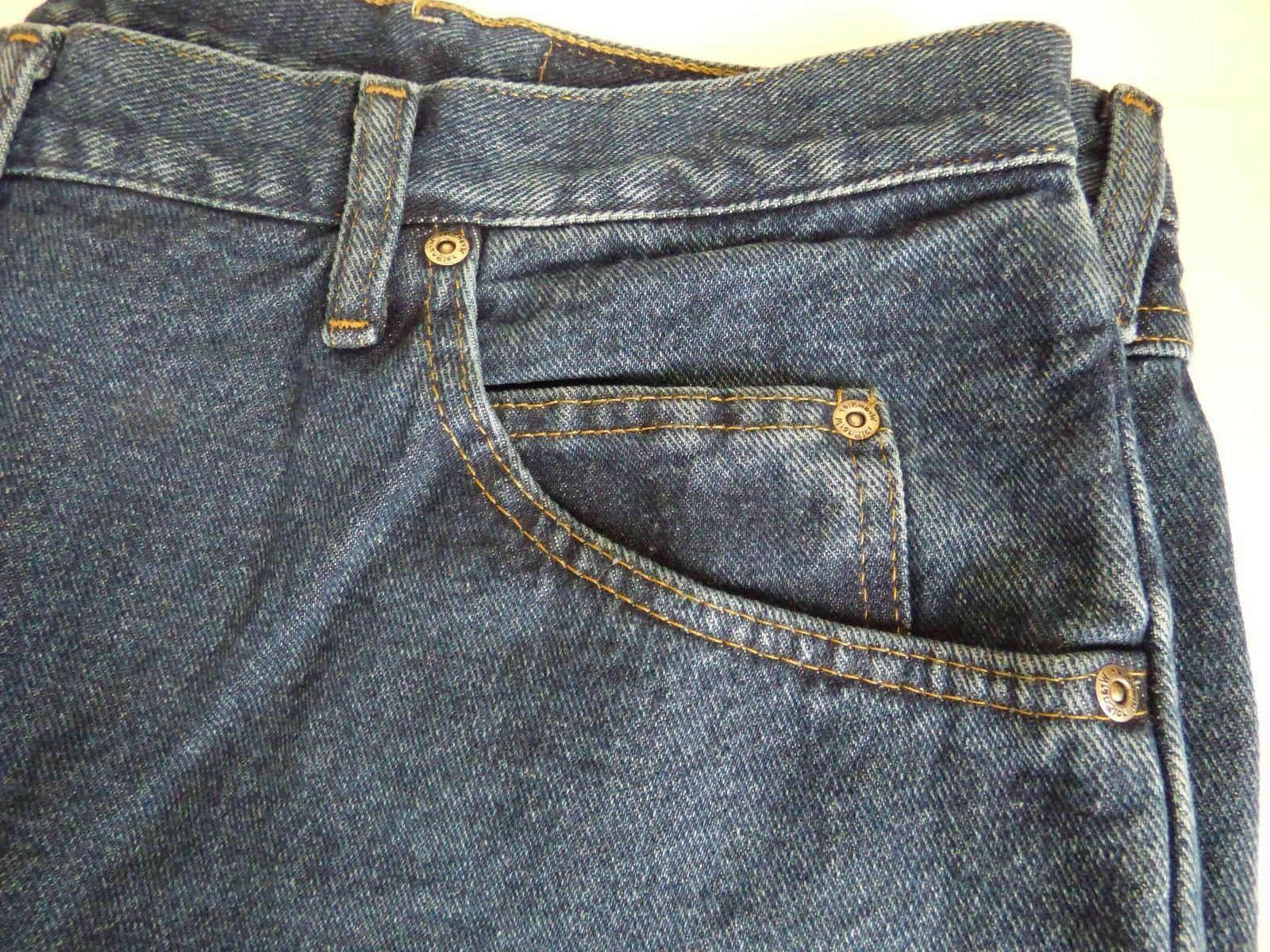 Mens Relaxed Jeans Denim