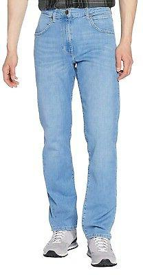 Wrangler Mens Arizona Stretch Regular Fit Jeans Light Breeze