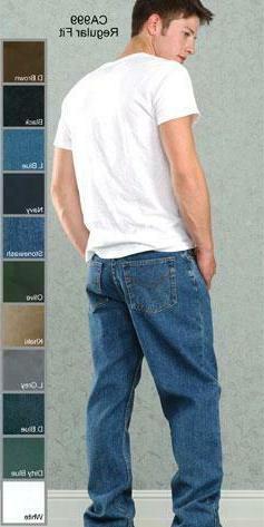 Mens Basic Jeans 30-48