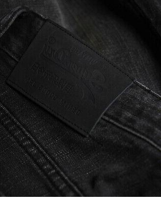 Superdry Mens Straight Jeans