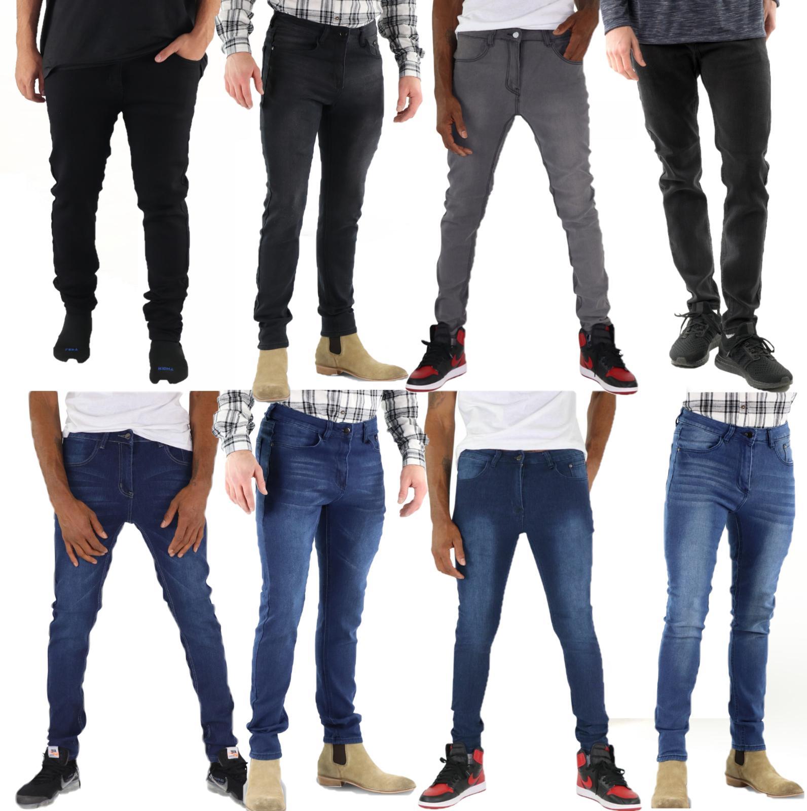 mens mason skinny slim fit jeans denim
