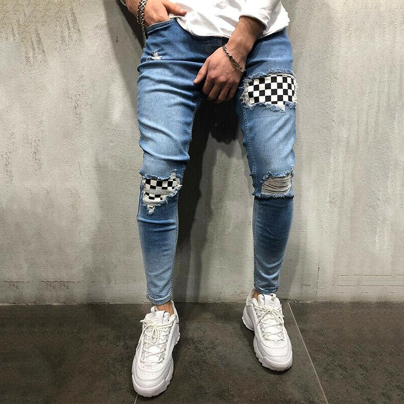 Mens Fit Jeans Pants