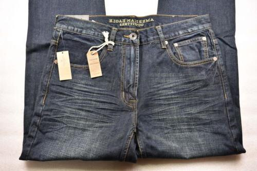 mens slim straight dark tinted indigo wash
