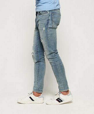 Superdry Mens Travis Skinny Jeans