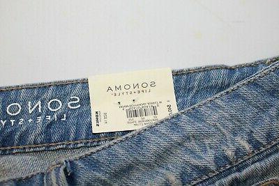 Sonoma 100% Boyfriend Jeans 14. Retail $40.00 NWT