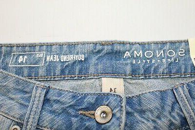 Sonoma Mid-Rise Boyfriend Jeans Size Retail NWT