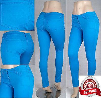 Missy/Junior Sretch Color Skinny Jeans US Seller SG14214/14297