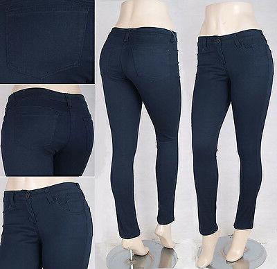 Missy/Junior Color Skinny Jeans Trousers Seller SG14214/14297