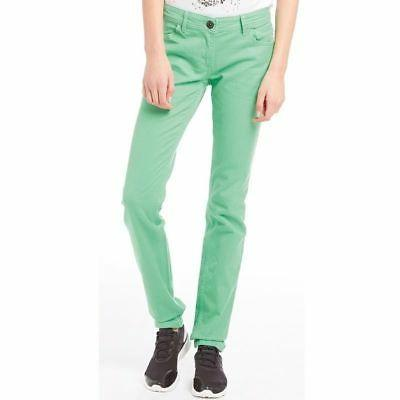 Adidas Neo Womens Colour Skinny Jeans Green Size W30 L32 NWT