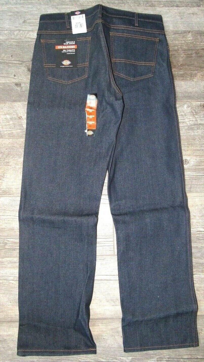 NEW 5-Pocket Work Jean Straight Leg