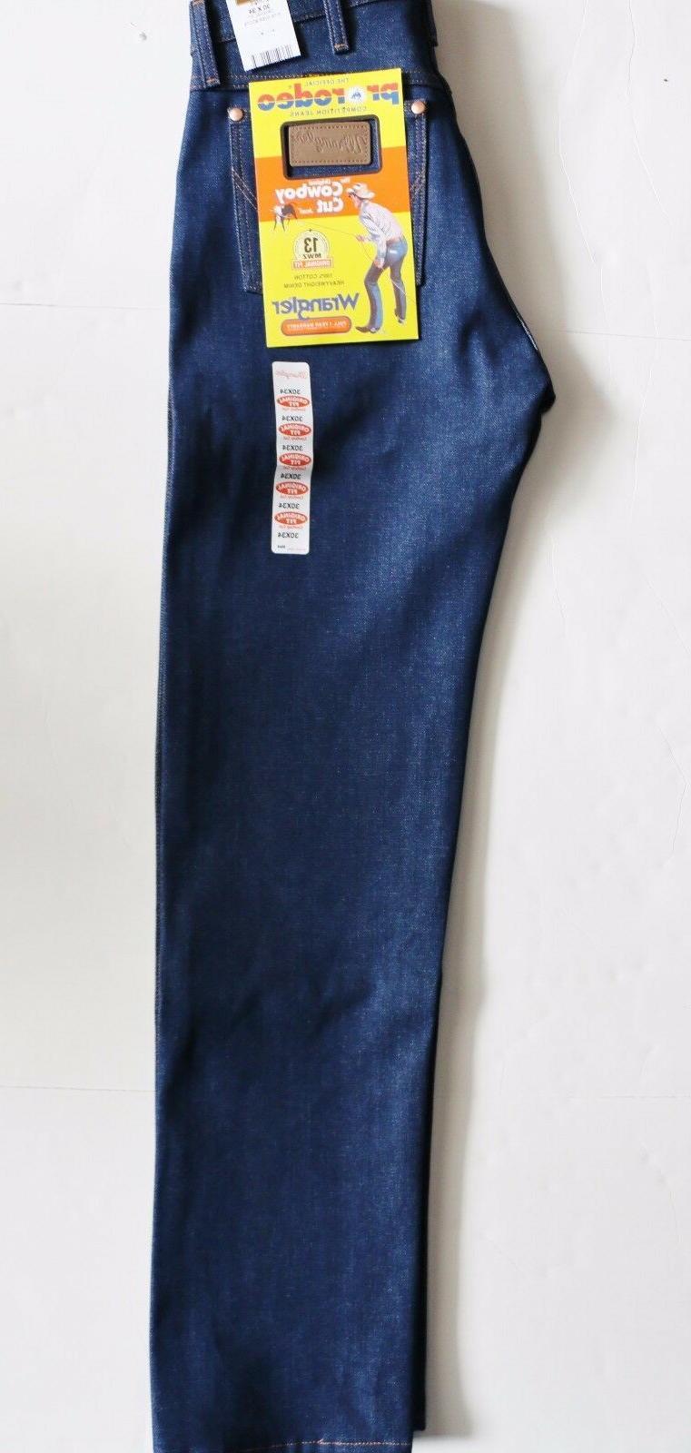 New Cowboy 13MWZ Original Fit Jeans Rigid Sizes