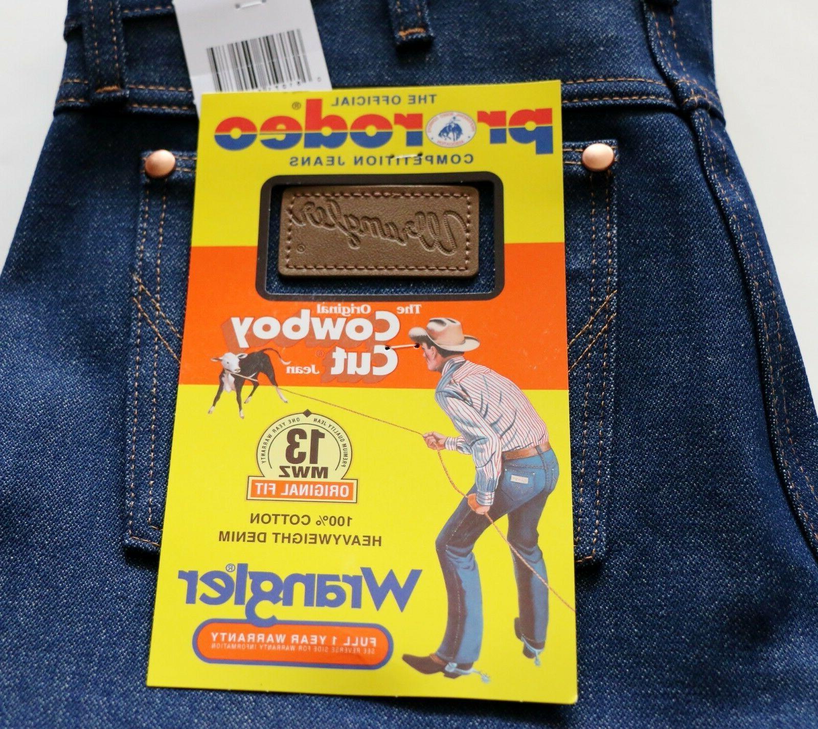 New 13MWZ Fit Jeans Rigid Men's