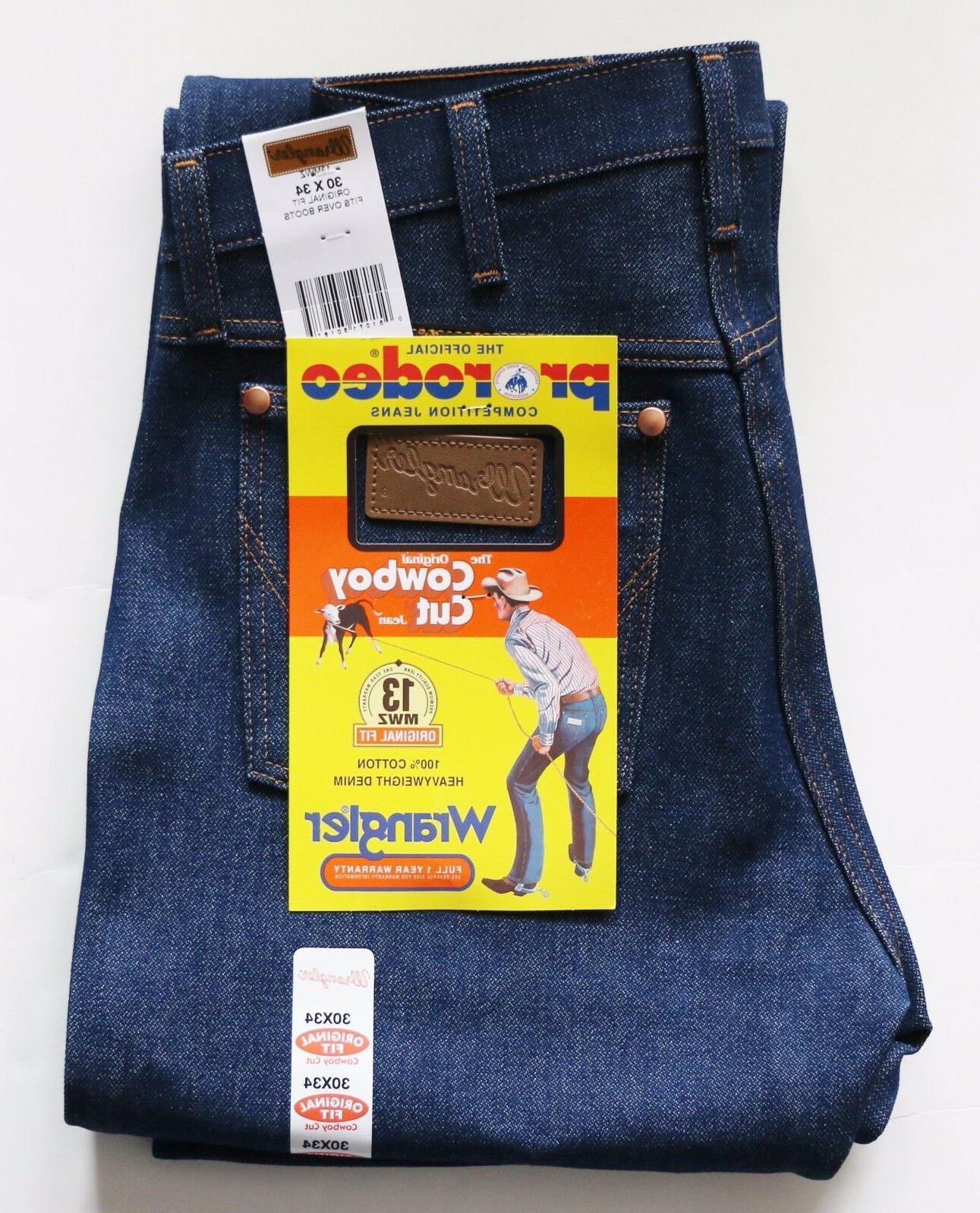 new cowboy cut 13mwz original fit jeans
